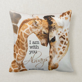 Giraffe Pillows  Decorative  Throw Pillows  Zazzle