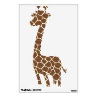 Giraffe Print Wall Decals & Wall Stickers | Zazzle
