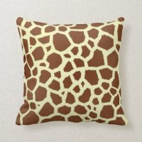 Giraffe Pillows - Giraffe Throw Pillows | Zazzle