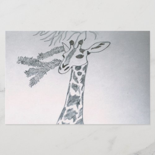 Giraffe Stationery stationery