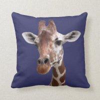 Giraffe Throw Pillow | Zazzle