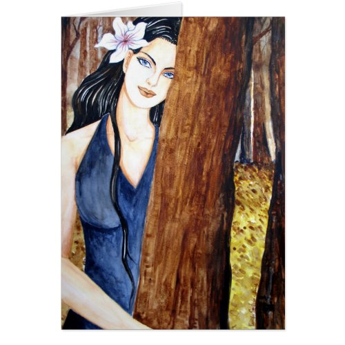 Girl in the Forest by Farida Greenfield