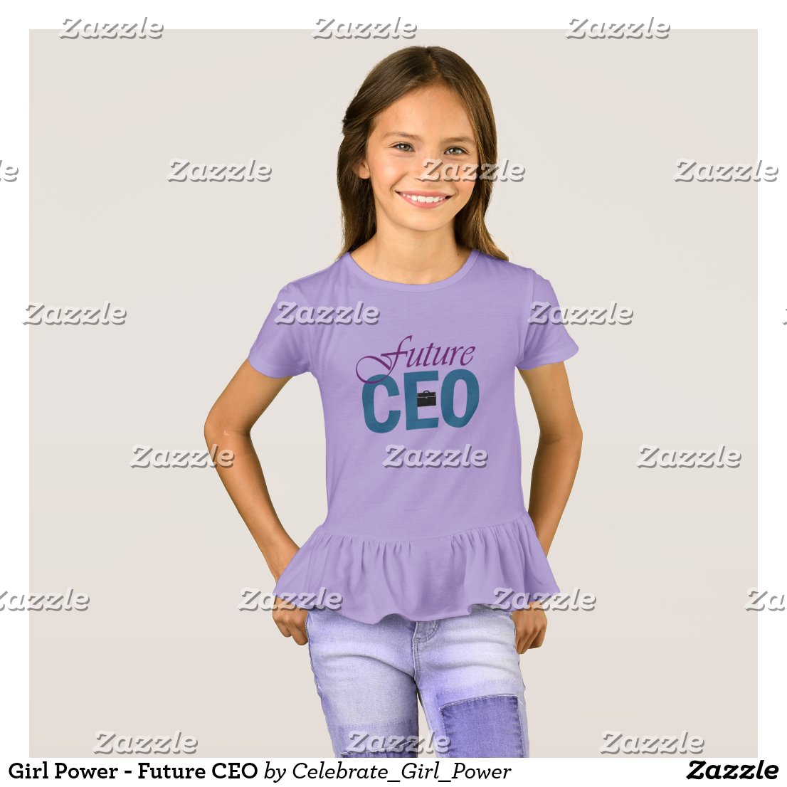 Girl Power - Future CEO T-Shirt