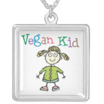 Girl's Vegan Kid Necklace