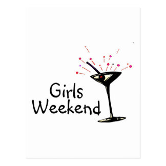 Girls Weekend Post Card