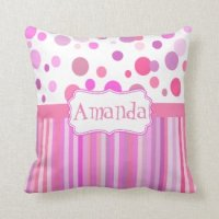 Girls Room | Pretty Throw Pillows