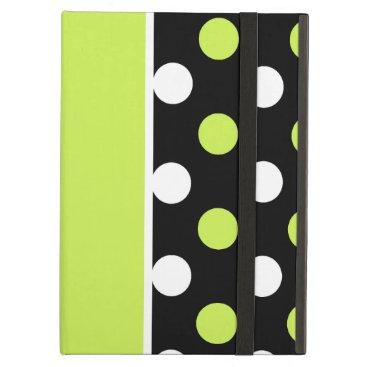 Girly Damask and Polka Dot Patterns Cover For iPad Air