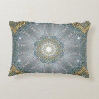 Silver Sequin Pillows - Decorative & Throw Pillows | Zazzle