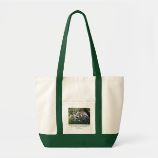 Give me odorous at sunrise a garden of bea... tote bag