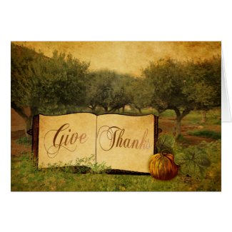 Give Thanks Cards