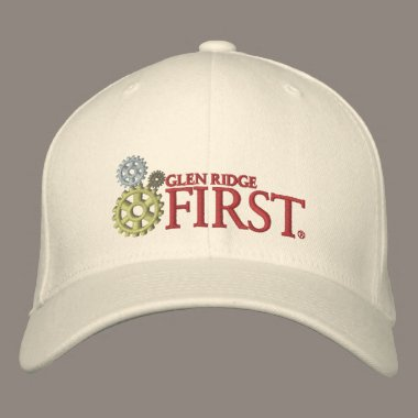 Glen Ridge FIRST Embroidered Baseball Hat embroidered hats