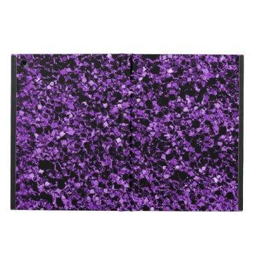 Glitter purple iPad air case