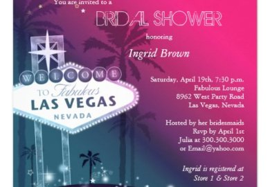Las Vegas Wedding Favors