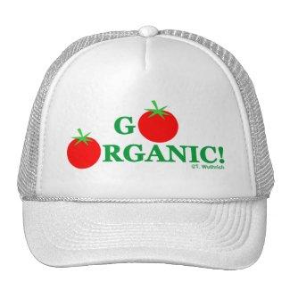 Humorous Organic Gardening Hat