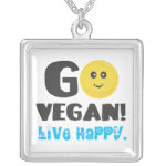 Go Vegan Necklace