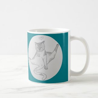 God grant me the Immutable self-confidence of cats Coffee Mug
