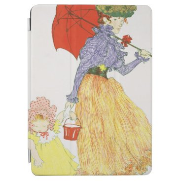 Going to the Beach, from 'L'Estampe Moderne', publ iPad Air Cover