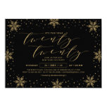 Gold & Black | New years eve Corporate Party Invitation