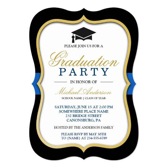 Pretty Graduation Invitations