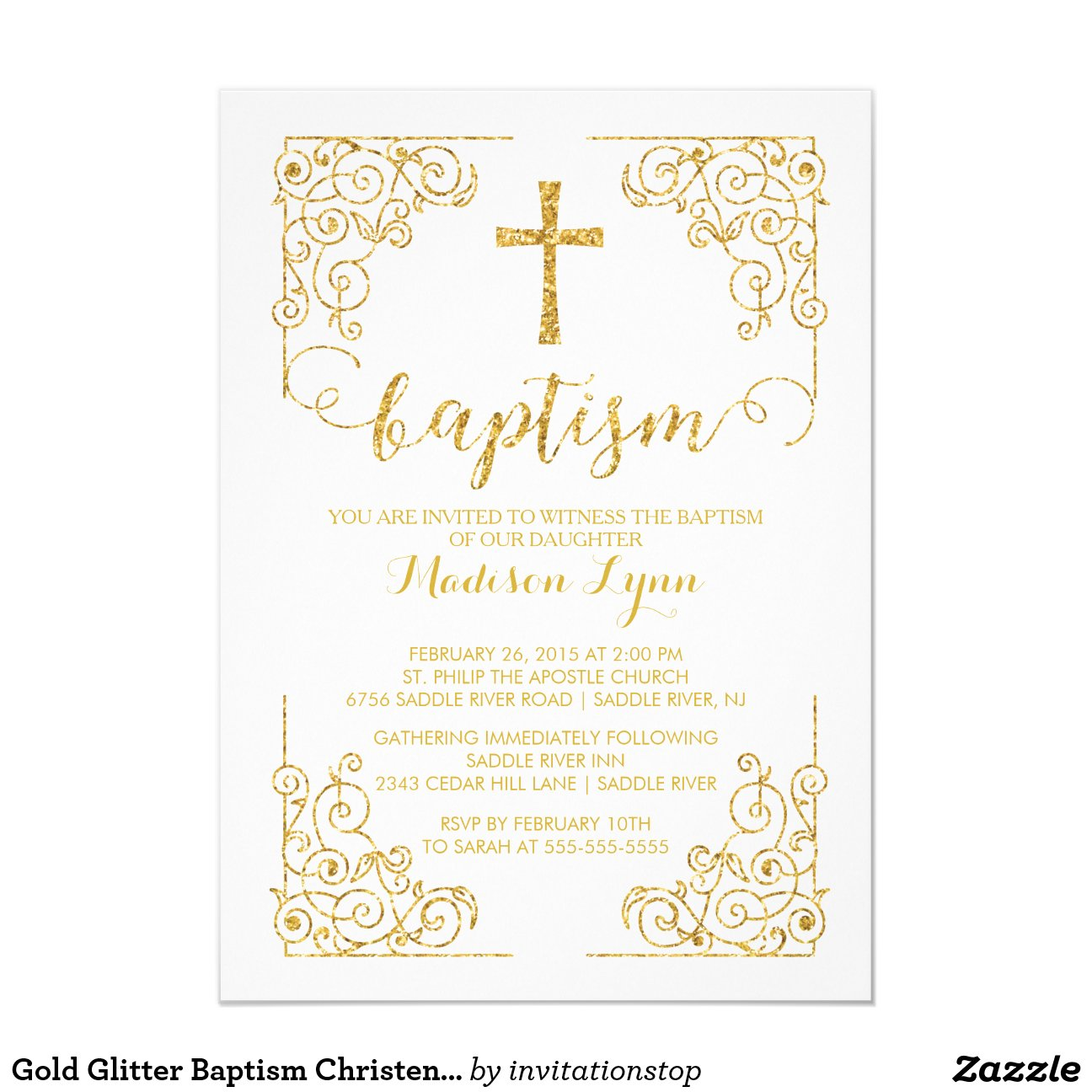 Free Christening Invitations