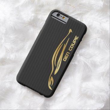 Gold Hyundai Genesis COUPE Logo Barely There iPhone 6 Case