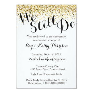 We Do Wedding Invitation Kraft