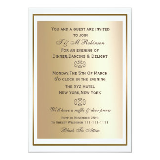 General Invitation Epic Corporate Dinner And Tails Party E Card Design Example For