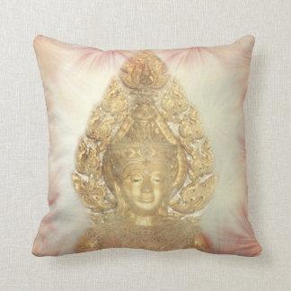Golden Buddha Pillows