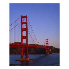 Golden Gate Bridge, San Francisco, California, 2 Poster