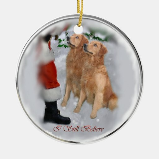 Golden Retriever Christmas Gifts Ornament Zazzle