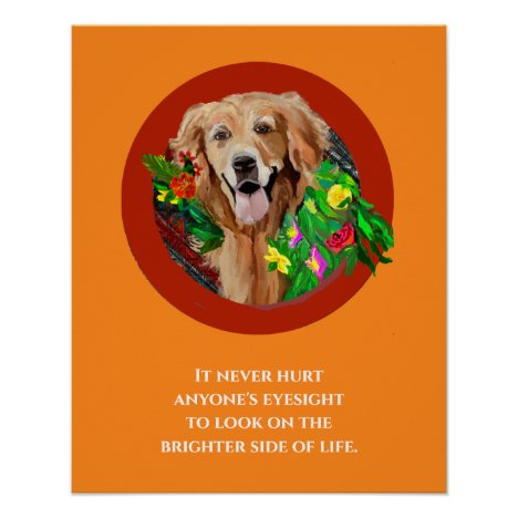Golden Retriever Print, Value Poster Paper (Matte)