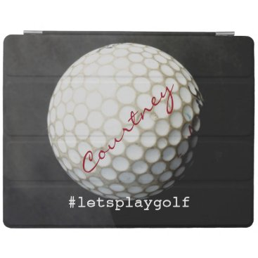 golfing ipad cover to personalize for golfers