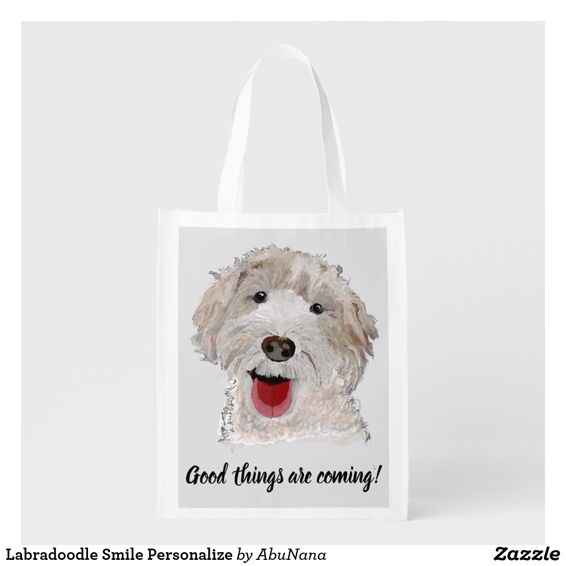 Good Things Are Coming Grocery Bag