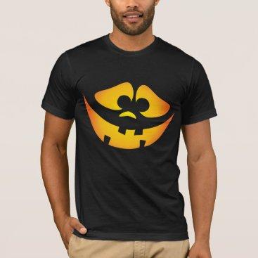 Goofy Jack-o'-lantern Halloween shirts