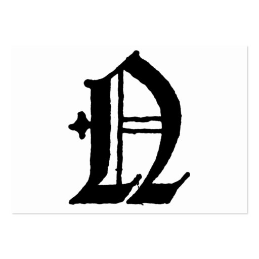 Gothic Letter