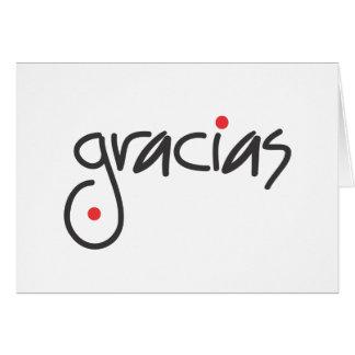 Gracias Cards, Gracias Card Templates, Postage