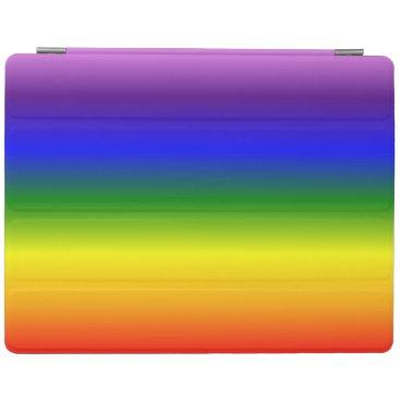 Gradient Multicolor Rainbow Colors Pattern iPad Smart Cover