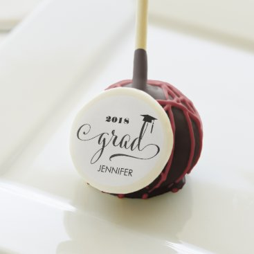 Graduate Personalized Cake Pops