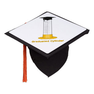 graduated cylinder graduation cap