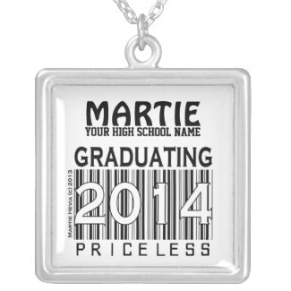 Graduating 2014: Priceless (Personalize) Necklace