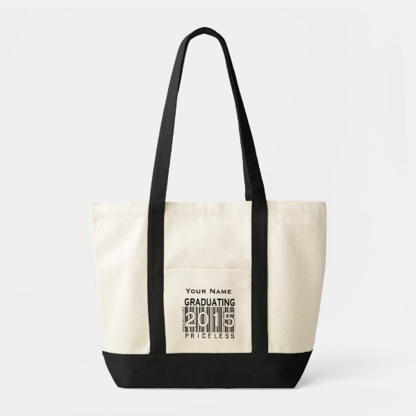 Graduating 2015: Priceless - Tote (Personalize)