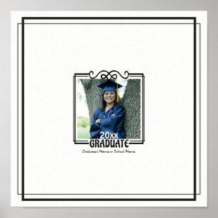 graduation autograph keepsake print