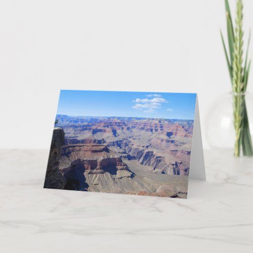 Grand Canyon Greeting Card card