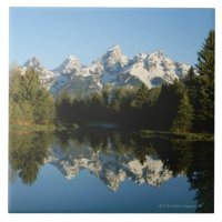 Grand Teton National Park, Teton Range, Wyoming, Tile