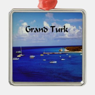 Grand Turk Christmas Ornaments