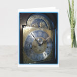 Grandfather Clock Face cards