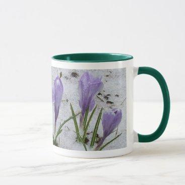 Grandma's Mother's Day -Crocus in Snow Mug
