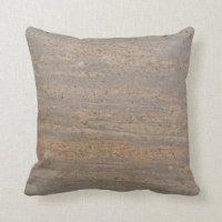 Brown Gray Pillows - Decorative & Throw Pillows | Zazzle