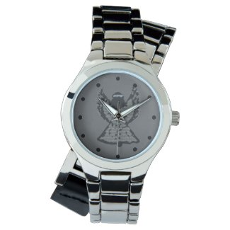Gray Angel Silver Watch
