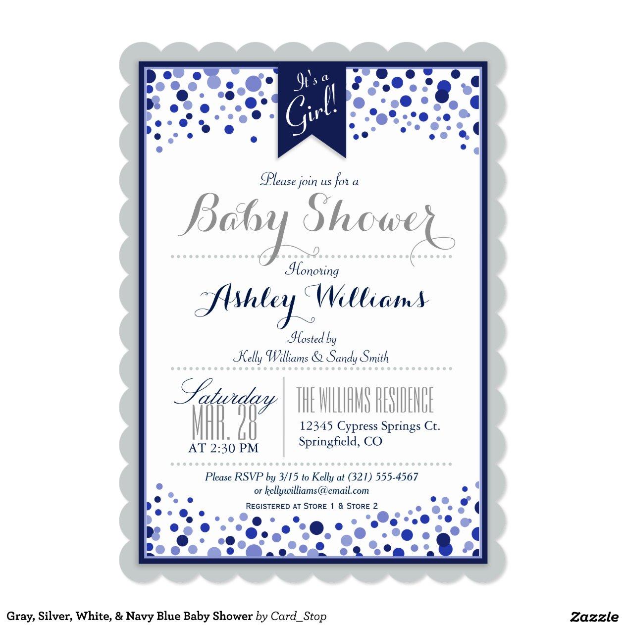 Quick Baby Shower Invitations